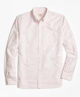 Brooks Brothers Stripe Oxford Sport Shirt