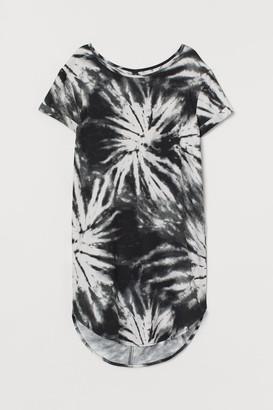 H&M Short T-shirt Dress - Gray