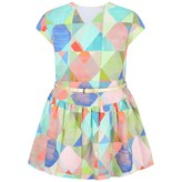 Oilily OililyGirls Patterned Linen Djelly Dress