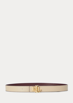 Ralph Lauren Reversible Logo Leather Belt