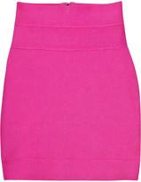Hervé Léger High-waisted bandage skirt