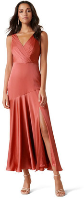 Forever New Marcella Satin Maxi Dress