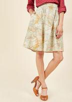 ModCloth For the Mercator Good Midi Skirt in 4X