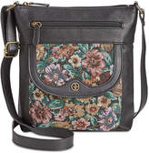 Giani Bernini Pebble Tapestry Crossbody, Created for Macy's