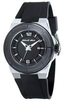 Black Dice The Veteran Men's Quartz Watch with Black Dial Analogue Display and Black Silicone Strap BD 067 03