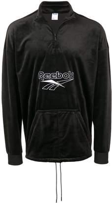 Reebok textured sweatshirt