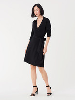 Diane von Furstenberg T/72 Jersey Knee-Length Wrap Dress