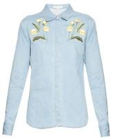 Stella McCartney Theres Botanical denim shirt