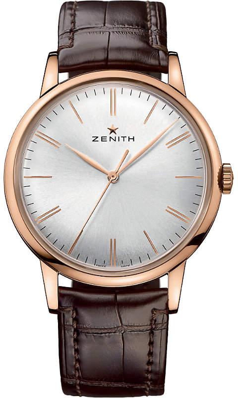 Zenith 182270615001C498 Elite rose gold watch