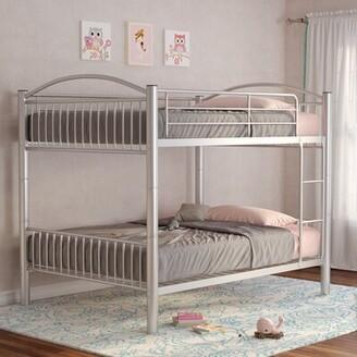 Pharr Convertible Bunk Bed Zoomie Kids Size: Full Over Full
