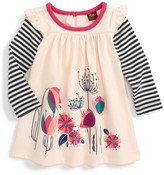 Tea Collection Infant Girl's Glasgow Gardens Mighty Mini Double Decker Dress