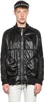Skingraft Nylon & Leather Jacket