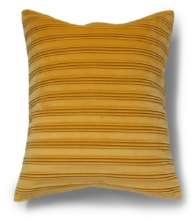 Protect A Bed Pleated Velvet Decorative Throw Pillow