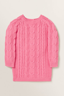 Seed Heritage Cable Knit Dress