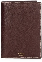 Mulberry Leather Passport Wallet