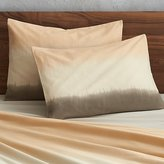 CB2 Set Of Two Ombre Standard Shams