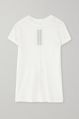 Rick Owens Stretch-jersey T-shirt - White