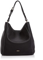 Frances Valentine Medium Tumbled Leather Hobo