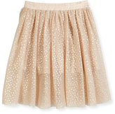 Stella McCartney Amalie Polka-Dot Skirt, Peony, Size 8-14
