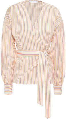Samsoe & Samsoe Samse Samse Merrill Striped Cotton Wrap Blouse