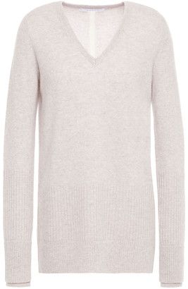 Duffy Split-back Cashmere Sweater