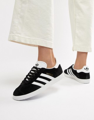 adidas Gazelle sneakers in black