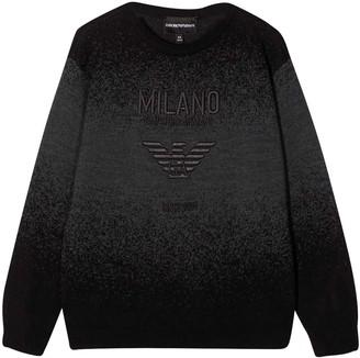 Emporio Armani Black Sweatshirt