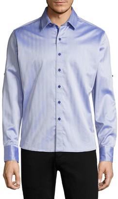 Robert Graham Canton Cotton Casual Button-Down Shirt