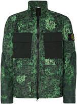 Stone Island Alligator Camouflage Print Jacket