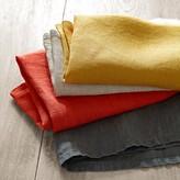 Italian Washed-Linen Napkins, Set of 4