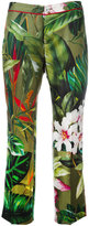 F.R.S For Restless Sleepers - tropical floral print pyjama trousers - women - Silk - S