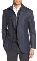 Ted Baker Tucker Trim Fit Houndstooth Wool Sport Coat