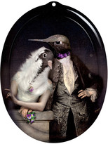 Ibride Galerie De Portraits - Oval Tray - The Lovebirds