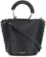 Sara Battaglia bucket shoulder bag