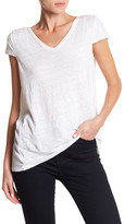 Laundry by Shelli Segal U-Back Cap Sleeve Tee