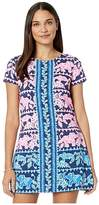 Lilly Pulitzer Blanca Stretch Romper (High Tide Navy Perfect Pair Engineered) Women's Jumpsuit & Rompers One Piece