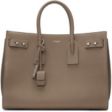 Saint Laurent Taupe Medium Sac De Jour Tote