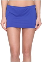 MICHAEL Michael Kors Villa Del Mar Logo Ring Swim Skirt
