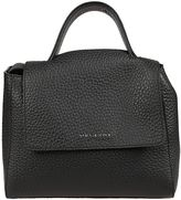 Orciani Small Sveva Soft Black Tote Bag
