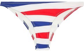 Solid & Striped The Rachel Printed Low-rise Bikini Briefs