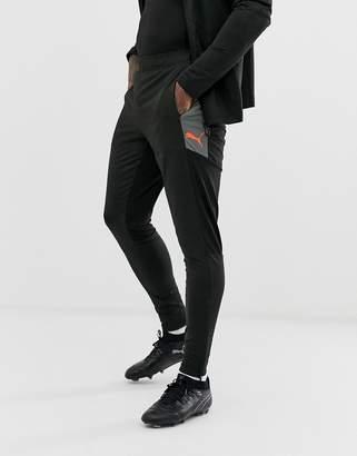 Puma Football nxt pro tapered joggers in black