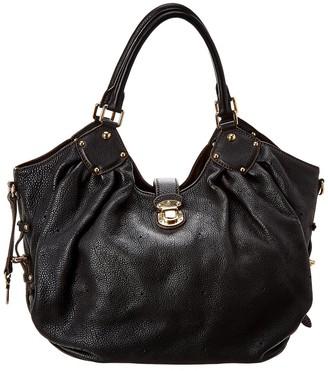 Louis Vuitton Dark Midnight Leather Mahina