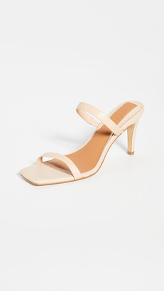 Jaggar Two Strap Leather Heel