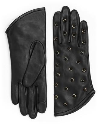 Stuart Weitzman Pearl Wrist Gloves