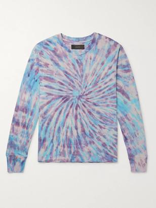 Amiri Tie-Dyed Cotton-Jersey T-Shirt