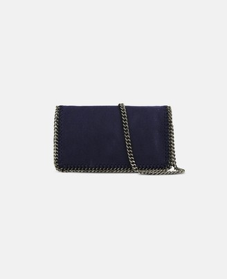 Stella McCartney Navy Falabella Cross Body Bag, Women's