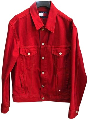 Tommy Jeans Red Denim - Jeans Jackets