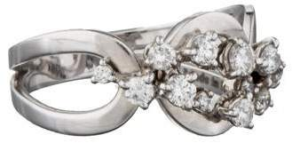 Damiani Cluster Diamond Ring