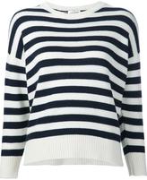 Saint Laurent Cashmere Striped Sweater