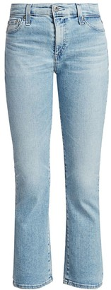 AG Jeans Jodi High-Rise Cropped Flare Jean